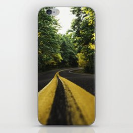 new england road iPhone Skin