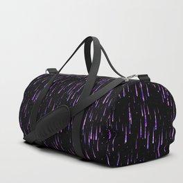 Meteor Rain - Purple Duffle Bag