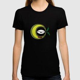 Moon Goddess with Coffee Leaf Eye-lash [Spa Ixchel] T-shirt