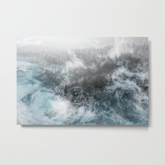 Wash Out Metal Print
