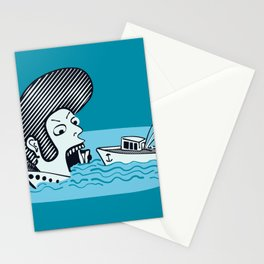 Elvis Eats Boats Stationery Cards