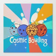 Cosmic Bowling Canvas Print