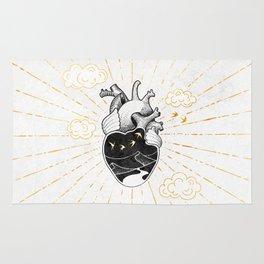 Desert Heart Inktober :: More Magick Rug