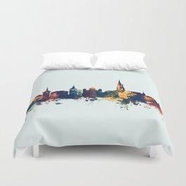 Bern Switzerland Skyline Duvet Cover