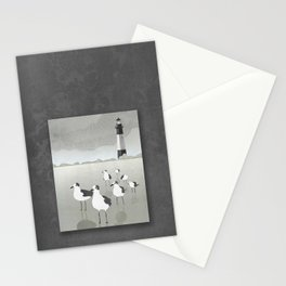 Seagulls Lighthouse Stationery Cards