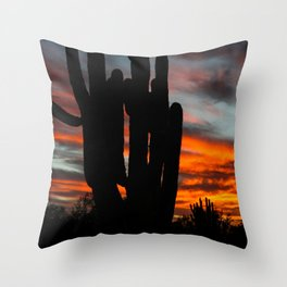 Sonoran Sunset #1 Throw Pillow