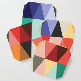 Mid-Century Modern Color Story Coaster