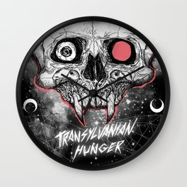 DETHGRIP Transylvanian Hunger Wall Clock