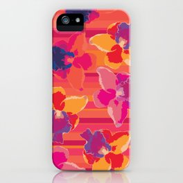 Fluor Flora - Hot Flamingo iPhone Case