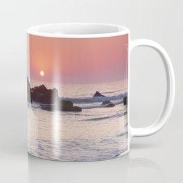 Encendida Beach At Sunset. Sancti Petri. Coffee Mug