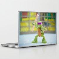donnie darko Laptop & iPad Skins featuring Donnie by TJAguilar Photos
