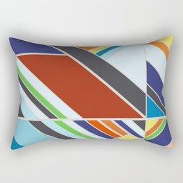 Abstract Composition 507 Rectangular Pillow