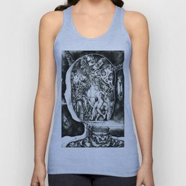 Concentric Sub-Levels Of Reality Unisex Tank Top