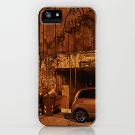 Back Alley in Palermo iPhone Case