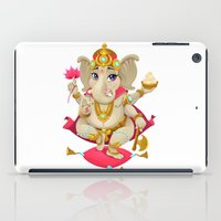 ganesh iPad Cases featuring Ganesh by Danilo Sanino
