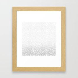 Gradient ornament Framed Art Print