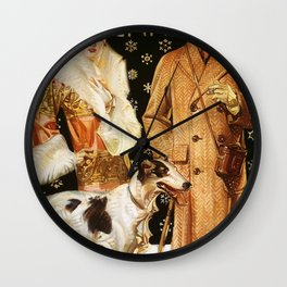 Joseph Christian Leyendecker - Kuppenheimer - Digital Remastered Edition Wall Clock