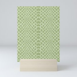 Snake Skin Pattern Mini Art Print
