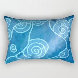 MELUSINA SEA DOLPHINS Rectangular Pillow