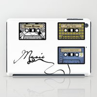 tape iPad Cases featuring tape by Jeffrey Bourgeois