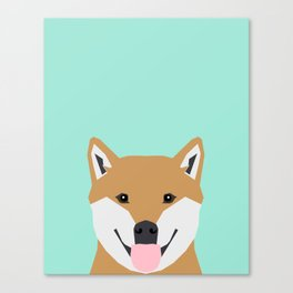 Cassidy - Shiba Inu gifts for dog lovers and cute Shiba Inu phone case for Shiba Inu owner gifts Canvas Print