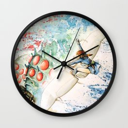 """The flying princess"" Wall Clock"