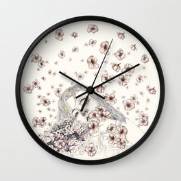 little bridesmaid Wall Clock