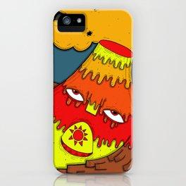 Hephaestus the Fire King iPhone Case