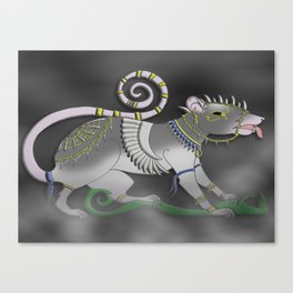 The Sacred of Rat Canvas Print