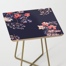 Colorful Night Roses Side Table