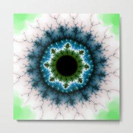 Fractal Eye 2 Metal Print