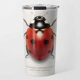 Seven spot ladybird Travel Mug