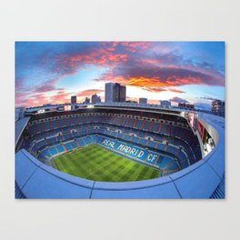 madrid bernabeu stadium Canvas Print
