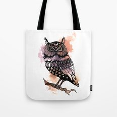 Owl Splash Tote Bag