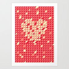 The Love.  Art Print