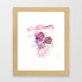 Desert Bloom Framed Art Print