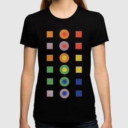 Chevreul Laws of Contrast of Colour, Plate VI, 1860, Remake, vintage wash T-shirt