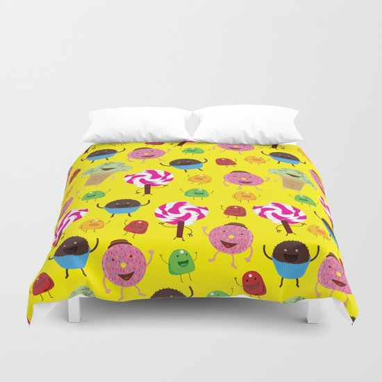 Candy People Duvet Cover