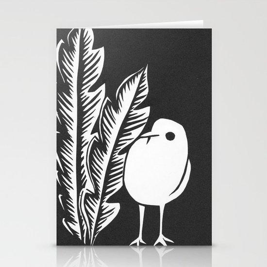 Graphic Bird Stationery Cards