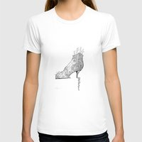 shoe T-shirts featuring Shoe Town by Ellair