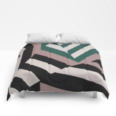 ASDIC/SONAR Dazzle Camouflage Graphic Design Comforters