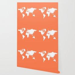Coral Elegant World Wallpaper