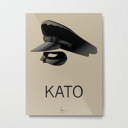 KATO Metal Print