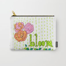 Raining Blooms Carry-All Pouch
