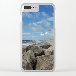Peaceful And Beautiful Day Clear iPhone Case