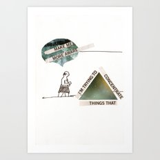 All Knowing Art Print