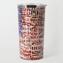 Flag Circled Travel Mug