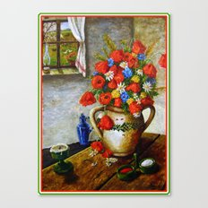Hungarian Poppies Canvas Print