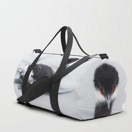 Eared Grebe Duffle Bag
