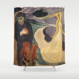 Edvard Munch - Separation Shower Curtain